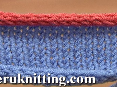 How to Knit I-cord Bind Off Tutorial 7 Method 12 of 12 Different Bind-Offs