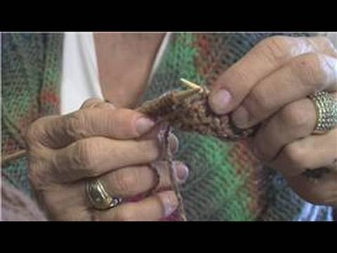 How to Knit : Increase Stitches