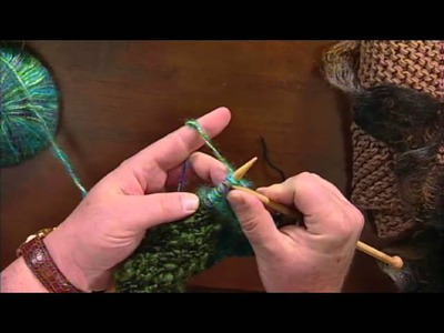 How to Knit Mitered Corners with Laura Bryant and Barry Klein, from Knitting Daily TV Episode 911