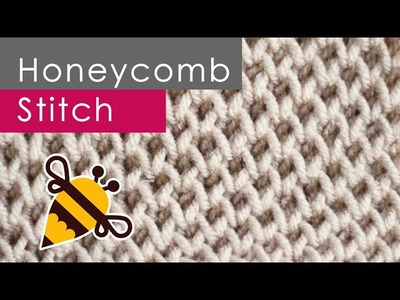 How to Knit the HONEYCOMB Brioche Stitch