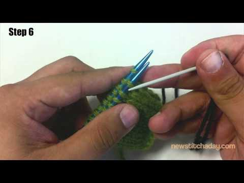 How to Knit The Kitchener Stitch