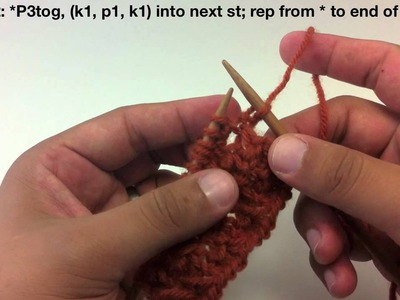 How to Knit the Raspberry (Blackberry) Stitch
