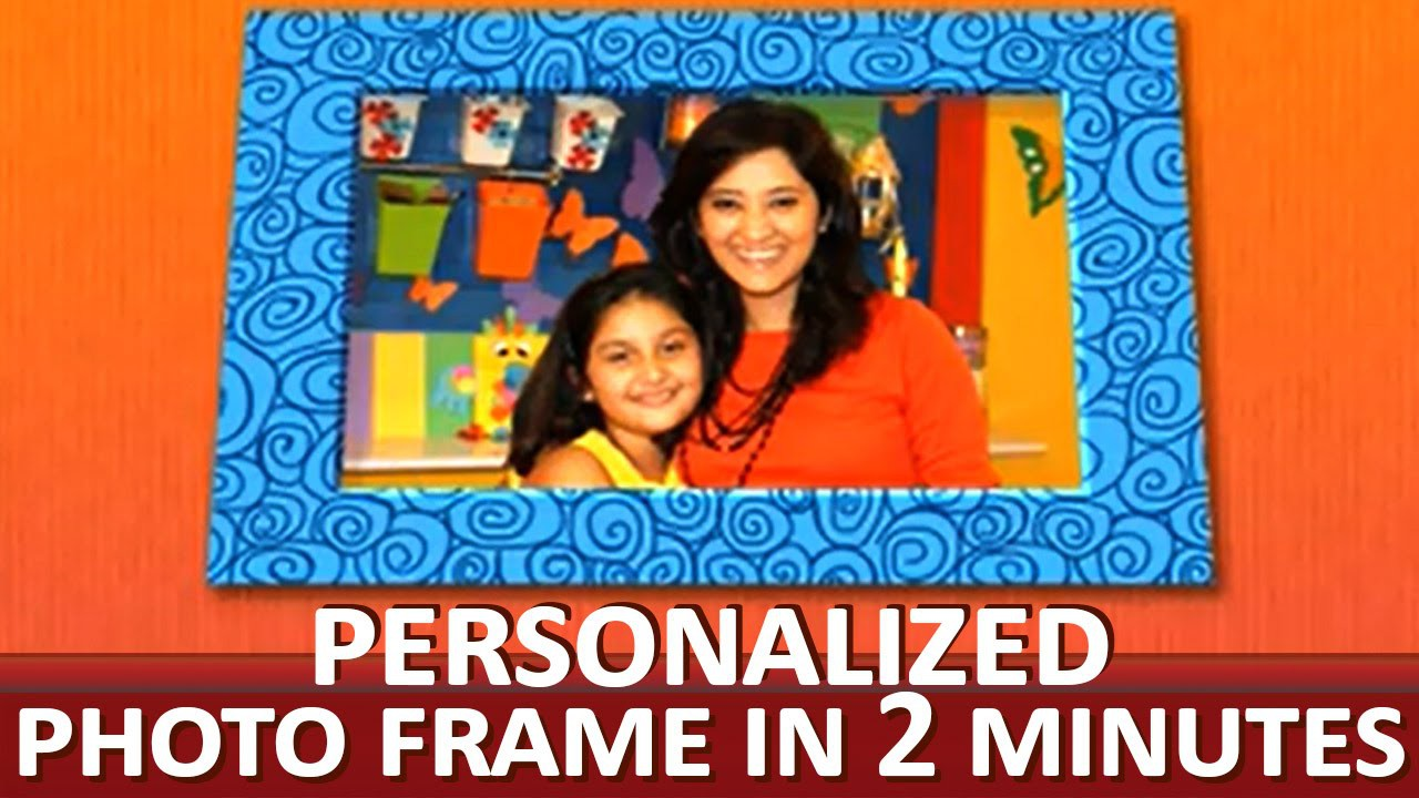 """How To Make A Creative Photo Frame - """"Paper Art and Craft Ideas"""""""