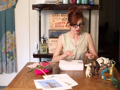 How to Make Animals From Wool Roving : DIY Crafts