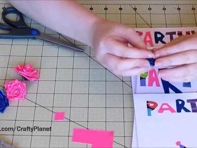 How To Make ★★COOL★★ Duct Tape Party Invitations (Duct Tape Crafts, Duct Tape Tutorial)