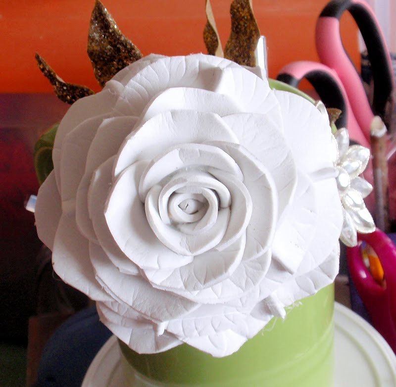 how to make foam flower