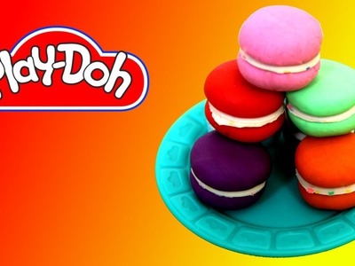 How to make Macaroons out of Play Doh