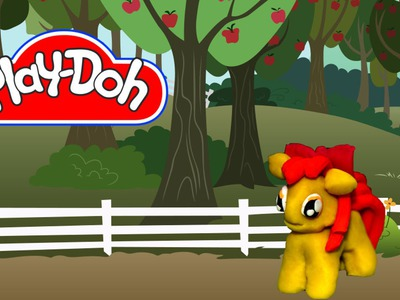 How to make Play Doh Apple Bloom My Little Pony