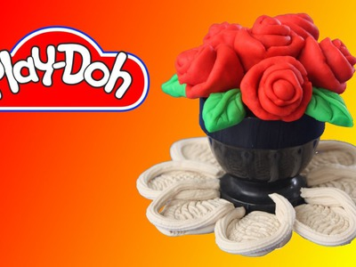How to make Roses using Play Doh
