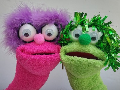 How to make Sock Puppets - Ana | DIY Crafts