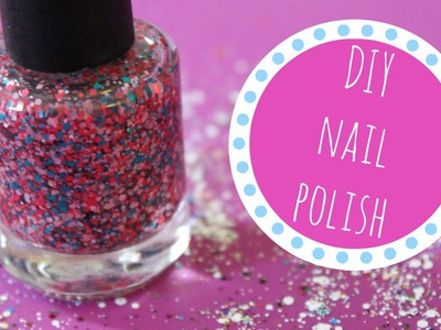How to Make Your Own Nail Polish (DIY Nail Polish Tutorial) | Alexa's DIY Life