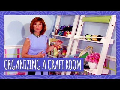 How to Organize a Craft Room - Throwback Thursday - HGTV Handmade