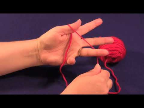"""How to Wind a """"Butterfly"""" of Yarn for Fair Isle or Intarsia Knitting"""