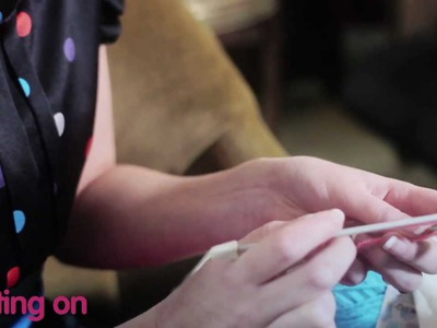 Innocent Ireland - How to knit a little hat for the innocent Big Knit
