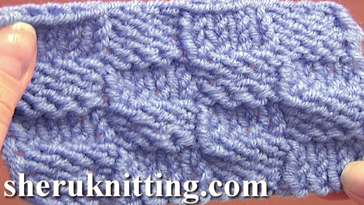 Knitted Checkerboard Stitch Pattern Tutorial 8 Easy Knitting Stitch ...