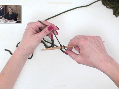Knitting Help - Long Tail Cast-On, Slingshot Method