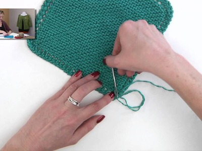 Knitting Help - Weaving in Cotton Ends