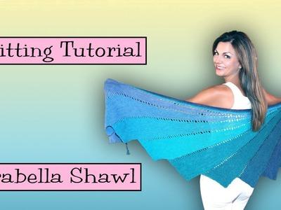Knitting Tutorial - SKEINO Arabella Shawl