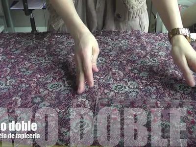 Living the crafts Tutorial de como hacer y coser un lazo