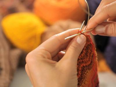Long Circular Needle. Magic Loop Method | Circular Knitting