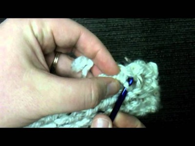 Loom Knit: Finish Cast on edge of scarf or panel