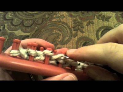 Loom Knitting: Keep Rolling Edges Flat