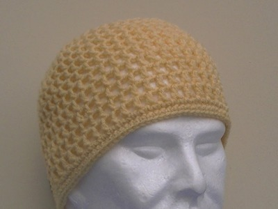 Mesh Hat Crochet Tutorial