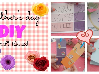 Mother's day ✽ diy crafts!
