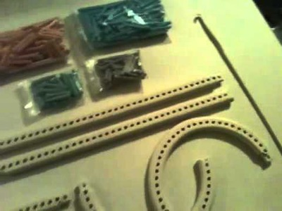 Opened Martha Stewart Loom Knit and Weave Kit by Lion Brand