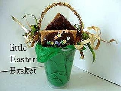 QUICK EASY LITTLE EASTER BASKET. simple kids craft, group activity, cubs, scouts, bible camp