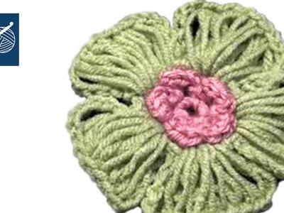 Radiant Crochet Flower Left Hand Crochet Geek