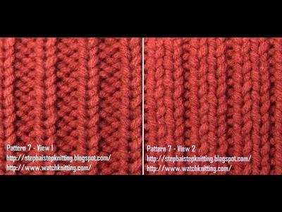 Simple Jerseys stitches- Free Knitting Patterns Tutorial - Watch Knitting - pattern 7