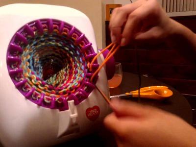 Singer Knitting Machine: Taking Your Tube Off