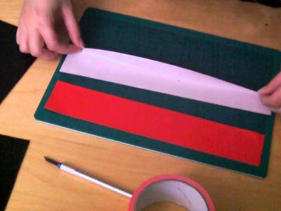 Tutorial: Duct Tape Pocket Locker. Organiser Part 1