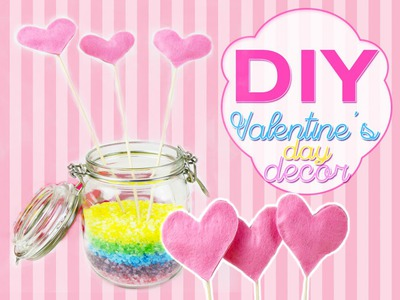 Valentine's Day Room Decor DIY ideas Easy DIY Projects crafts #1