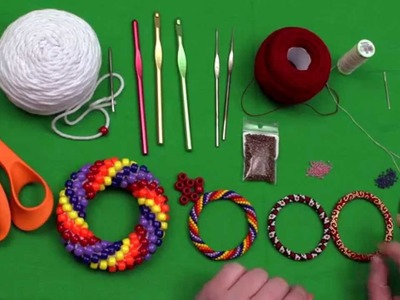 Bead Crochet Tutorial Series, Video 1: Bead Crochet Supplies