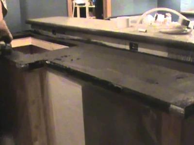 Brewpub DIY Part 3: Concrete Countertops