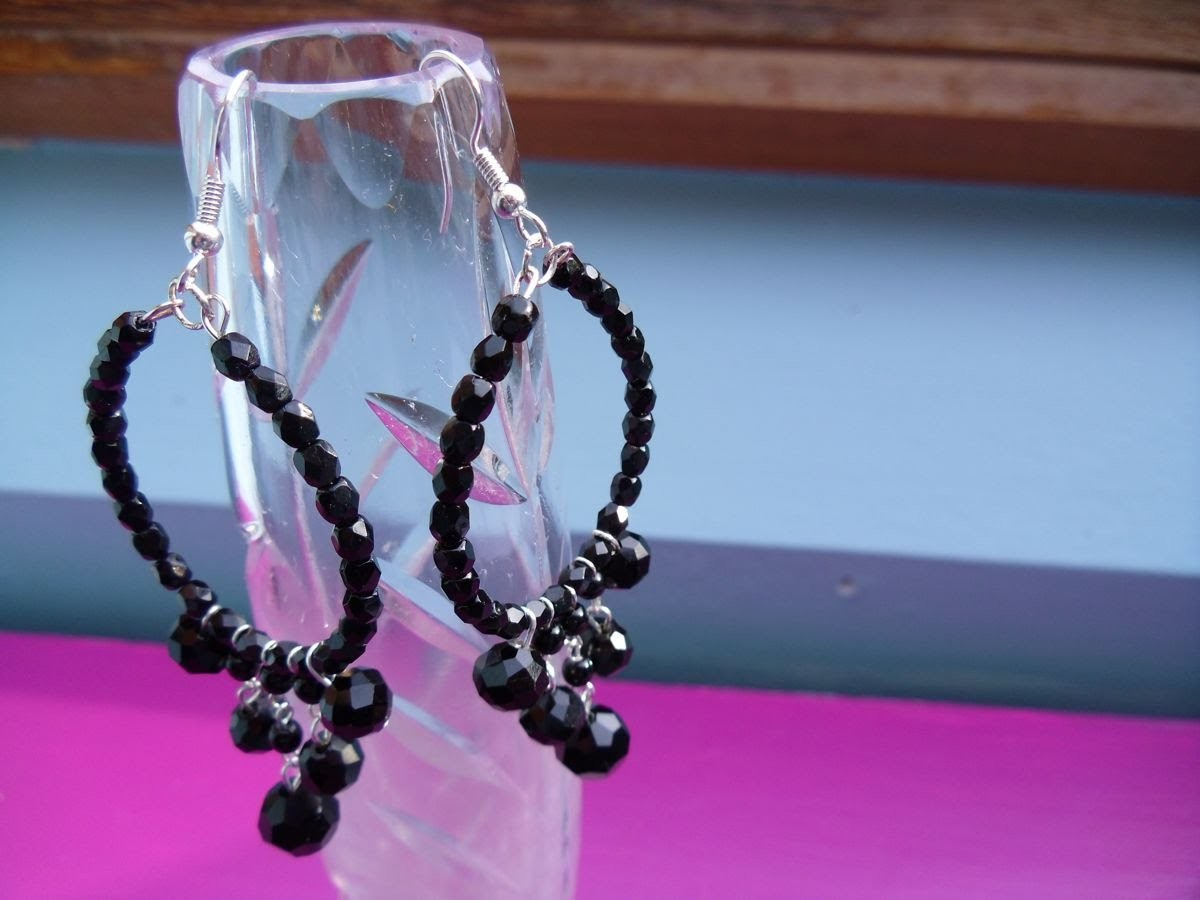 Crystal Chandelier Earrings Tutorial