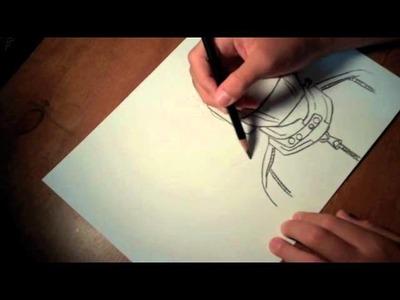 Daft Punk: Speed Drawing 2