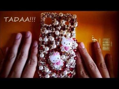 Diy bling phone case (gift idea)