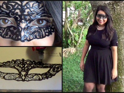 DIY l Masquerade Mask & Complete Costume