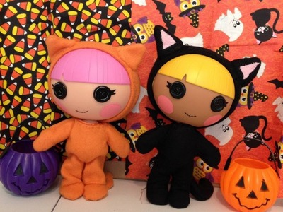 DIY Lalaloopsy Halloween Cat Costume