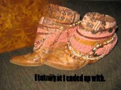 DIY Luxury Jones inspired boots_.wmv