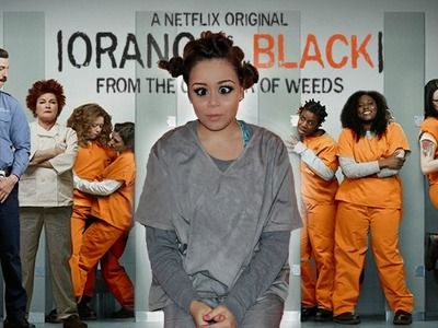 DIY Orange Is the New Black Halloween Costume! | KrazyRayRay