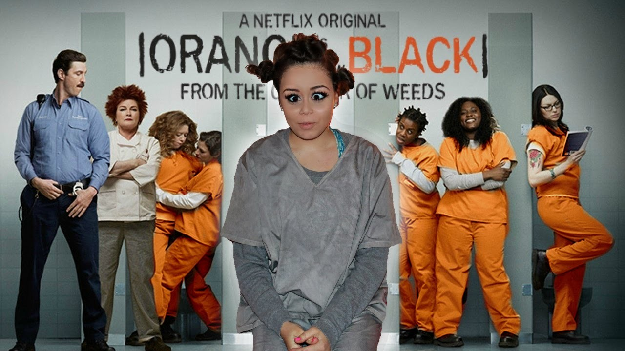 DIY Orange Is the New Black Halloween Costume! | KrazyRayRay