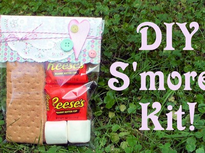 DIY Smores Kit Party favor