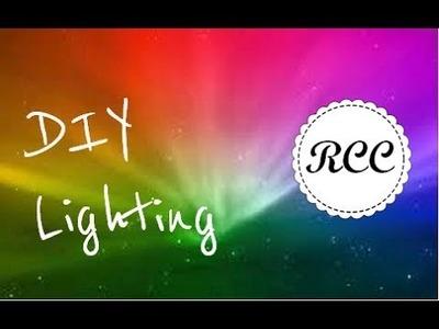 DIY Unique Room Lighting Effects