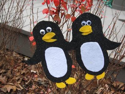 Felt Penguin Pals Craft Tutorial