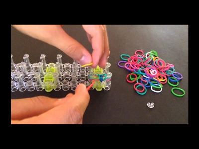 Fish Tail Rubber Band Bracelet Instructions by LOOM-A-LICIOUS