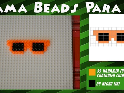 Gafas de sol - Tutorial Hama Beads